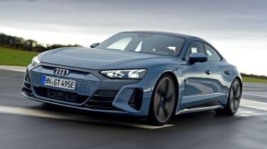 Audi e-tron GT saloon review