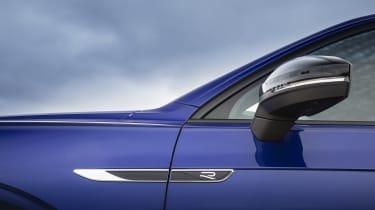 Volkswagen Touareg R mirror cap and R badge