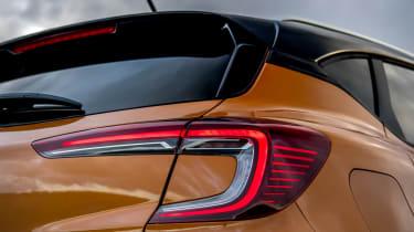 Renault Captur SUV rear lights