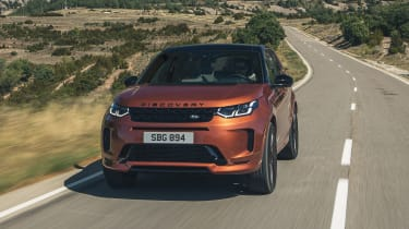 2020 Land Rover Discovery Sport Black