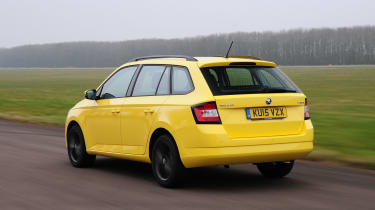 Previous Fabia Estates have been somewhat ungainly looking, but the latest model has smart lines