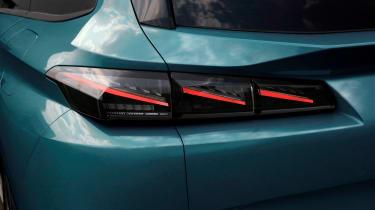 2021 Peugeot 308 SW estate - tail lights
