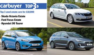Best estate cars under £10k - header image