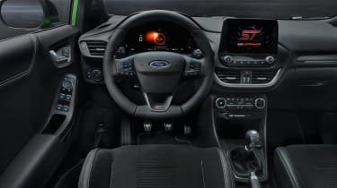 2020 Ford Puma ST - interior and dashboard