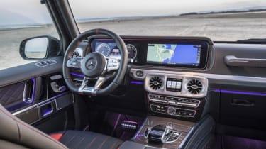 Mercedes G Class - interior view