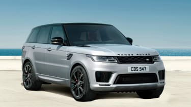 Range Rover Sport HST special edition three quarter