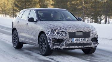 Jaguar F-Pace facelift prototype