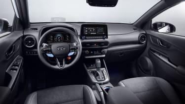 2021 Hyundai Kona N - interior
