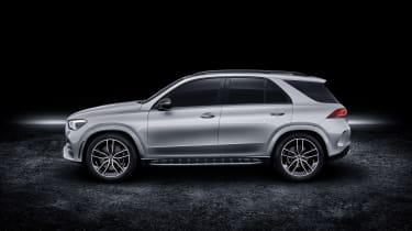 2019 Mercedes GLE side