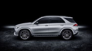 2019 Mercedes GLE side