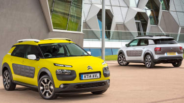 The C4 Cactus is also very light - weighing around 200kg less than a Citroen C4