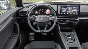Cupra Formentor SUV review interior