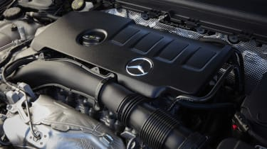 Mercedes CLA Shooting Brake engine