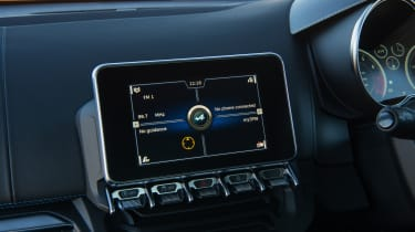 Alpine A110 coupe infotainment