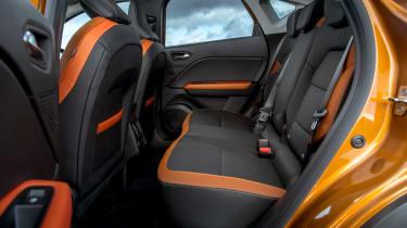 Renault Captur SUV rear seats