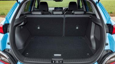 Hyundai Kona Electric SUV boot