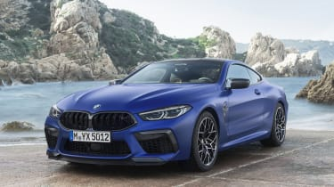 BMW M8 Competition coupe - 3/4 front static