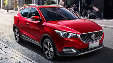 MG's rival to the Nissan Juke will be named the ZS when it arrives later in 2017