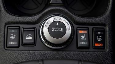 2017 Nissan X-Trail - interior 4x4 switchgear