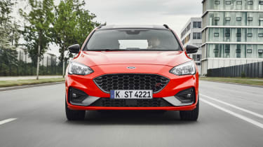 2019 Ford Focus ST estate - front