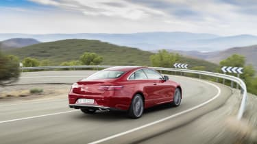 "Mercedes says the E-Class Coupe will offer ""refined driving pleasure"""