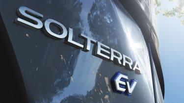 2022 Subaru Solterra - rear badging