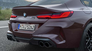 BMW M8 Gran Coupe rear end