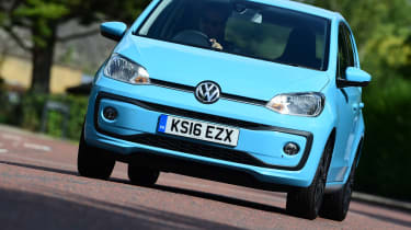 The Volkswagen up! is the VW Group's small city car