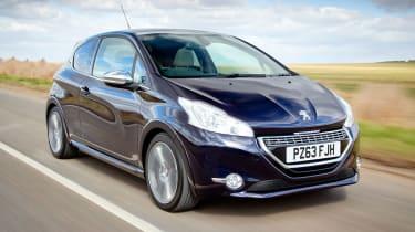 Peugeot 208 hatchback front quarter
