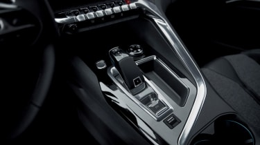 The automatic gearbox is standard equipment on the most powerful engines