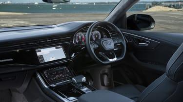 Audi SQ8 - interior quarter angle