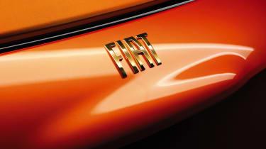 2020 Fiat 500 electric Bvlgari - read badge