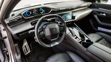 Peugeot 508 HYbrid interior