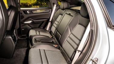 Porsche Cayenne Coupe SUV - rear seats
