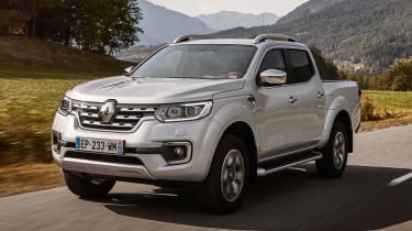The Renault Alaskan is the French manufacturer's first pickup truck