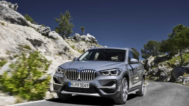 2019 BMW X1 SUV - front 3/4 dynamic close