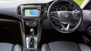 The latest Zafira Tourer's dashboard includes a large touchscreen interface