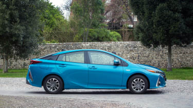 With a combined power output of 120bhp, the Prius Plug-in gets from 0-62mph in 11.1 seconds