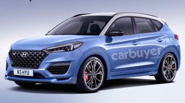 Hyundai Tucson N render