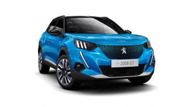 New Peugeot 2008 - front 3/4 view