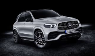 2019 Mercedes GLE front