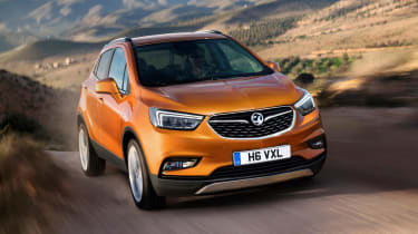Vauxhall has added the X to the Mokka's name as part of its new naming strategy.