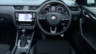 Skoda Octavia vRS - interior
