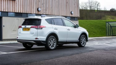 Vague steering means the RAV4 isn't as much fun to drive as rivals