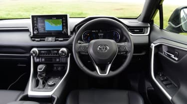 Toyota RAV4 Dynamic - dashboard