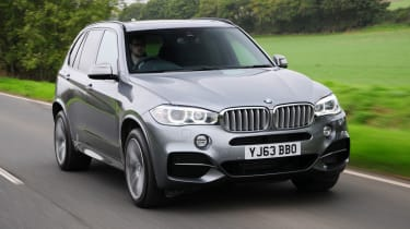 The X5 comes with five seats as standard, but seven seats are available as an option