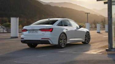 Audi A6 50 TFSI e plug-in hybrid - rear view