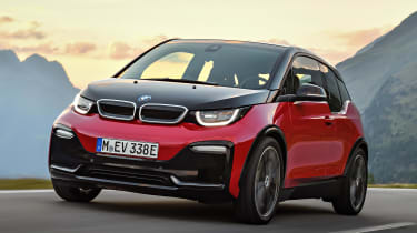 It doesn't just look futuristic, the i3 is largely constructed from lightweight carbon fibre