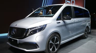 2020 Mercedes EQV electric MPV - Frankfurt