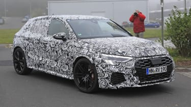 New Audi RS3 spotted